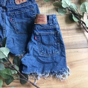 Levi's   Mommy and Me Shorts H124